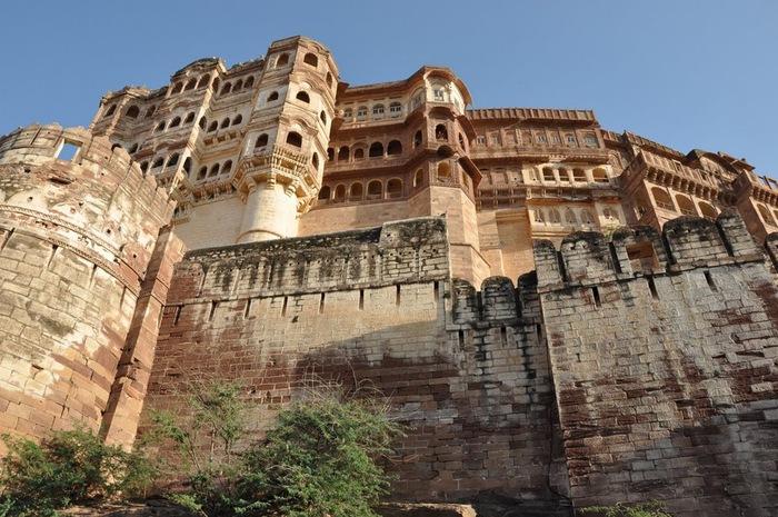 Крепость Мехрангарх - Mehrangarh fort, Jodhpur 89384