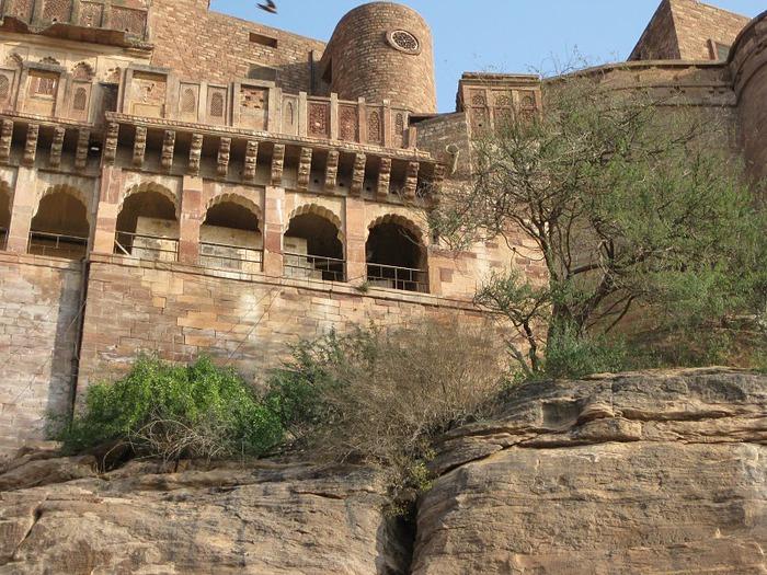 Крепость Мехрангарх - Mehrangarh fort, Jodhpur 12498