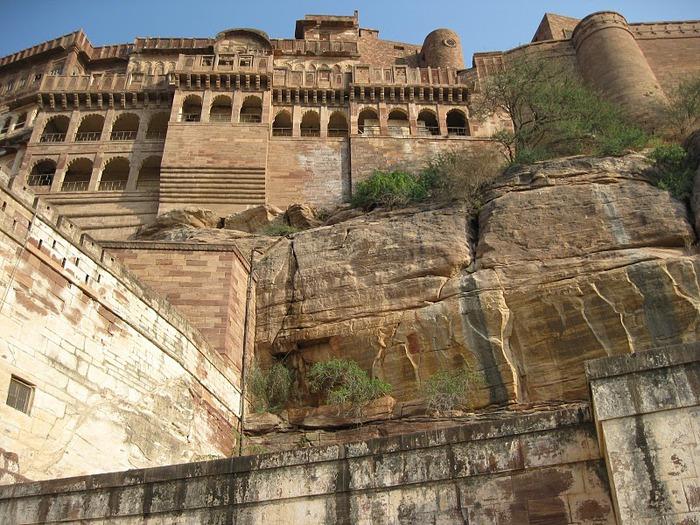 Крепость Мехрангарх - Mehrangarh fort, Jodhpur 60208