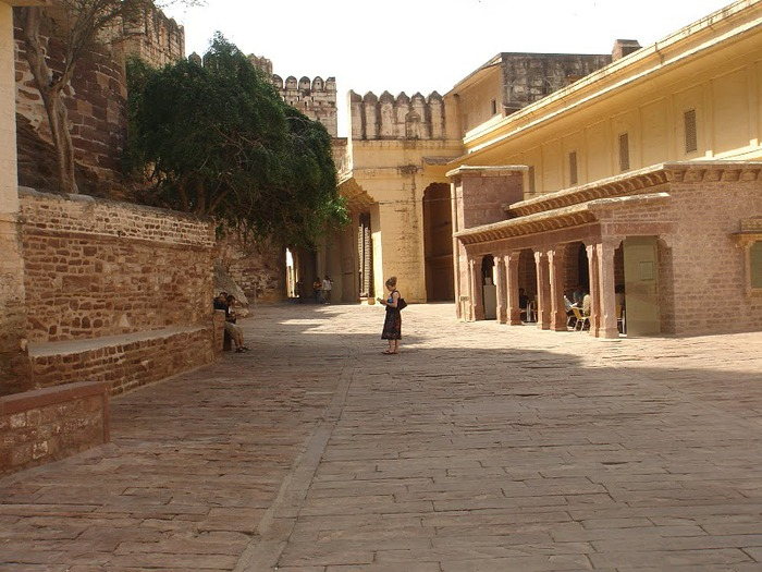 Крепость Мехрангарх - Mehrangarh fort, Jodhpur 64255