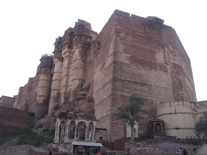 Крепость Мехрангарх - Mehrangarh fort, Jodhpur 90058