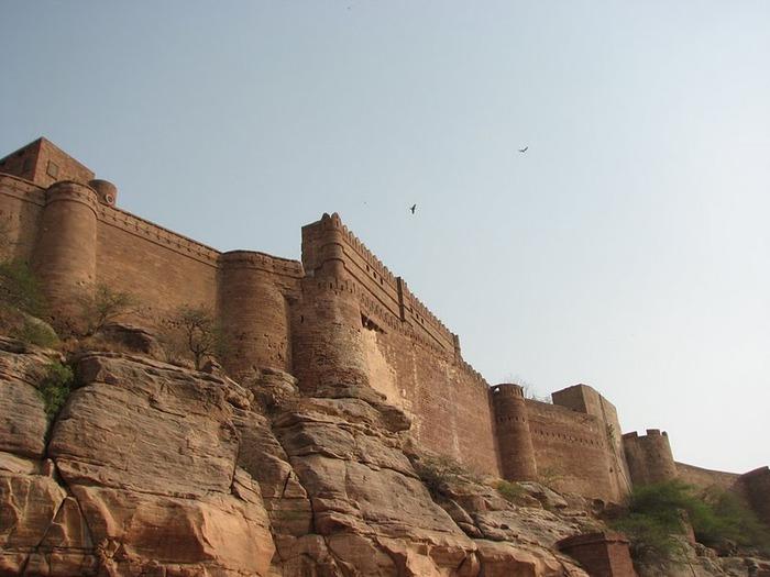 Крепость Мехрангарх - Mehrangarh fort, Jodhpur 25281