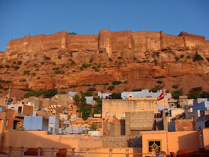 Крепость Мехрангарх - Mehrangarh fort, Jodhpur 44465