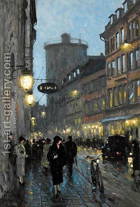 Paul Gustav Fischer-Street au soir (473x700, 340Ko)