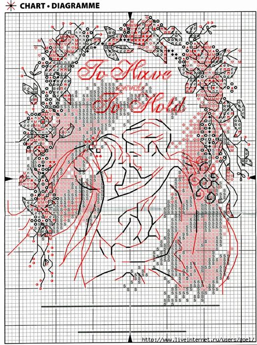 Вышивка к свадьбе
