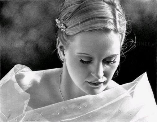 Классные женские портреты карандашом (54 картинки)