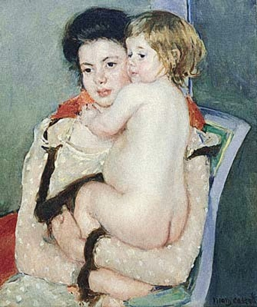 Mary_Cassatt_(1844-1926)__Reine_Lefebvre_Holding_a_Nude_Baby (509x608, 230Kb)