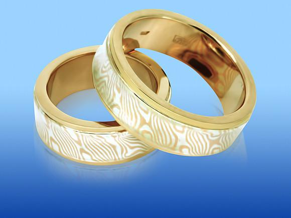 Обручальные кольца необычные фото 7