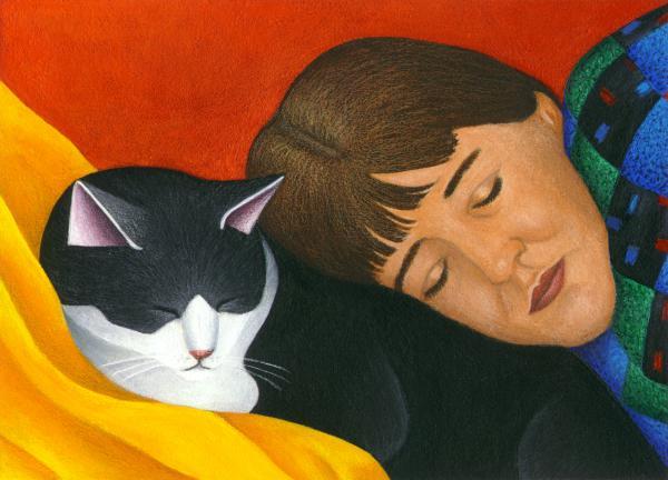 a-cat-is-a-furry-pillow-carol-wilson_002 (600x432, 37Kb)