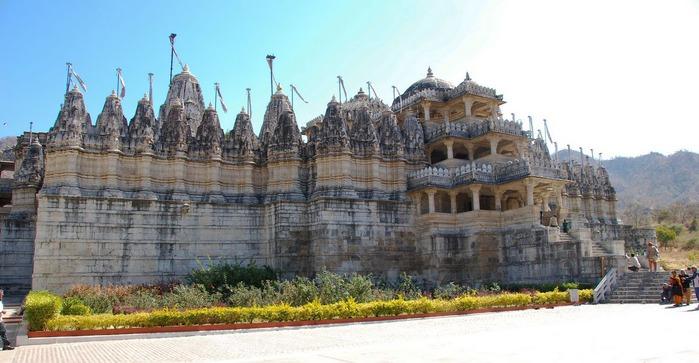 Храмовый комплекс Ранакпур - Jain Temples, Ranakpur 69041