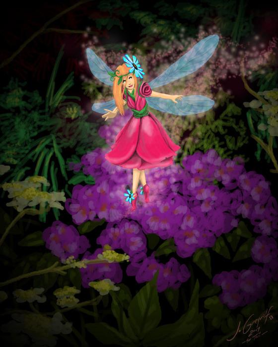 Добро пожаловать в волшебный мир фей