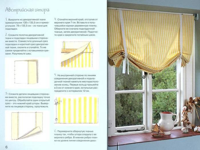 Как сшить шторы пошаговая инструкция