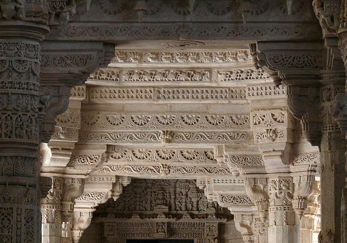 Храмовый комплекс Ранакпур - Jain Temples, Ranakpur 73747