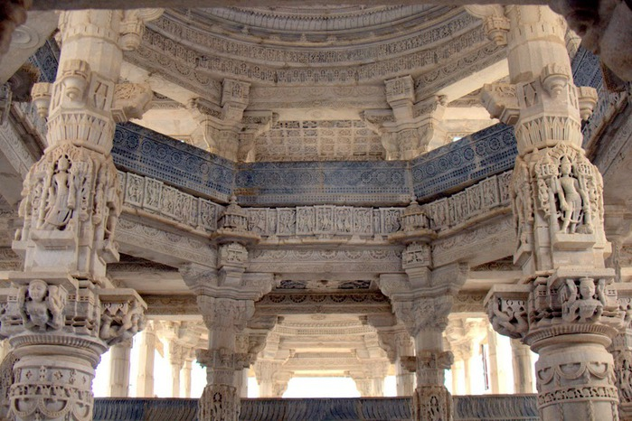 Храмовый комплекс Ранакпур - Jain Temples, Ranakpur 45850