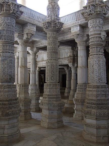 Храмовый комплекс Ранакпур - Jain Temples, Ranakpur 59527