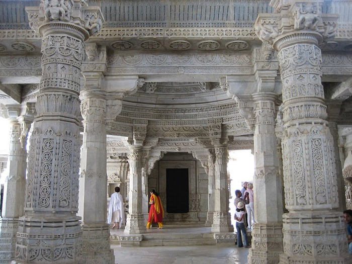 Храмовый комплекс Ранакпур - Jain Temples, Ranakpur 18509