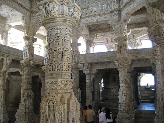 Храмовый комплекс Ранакпур - Jain Temples, Ranakpur 17259