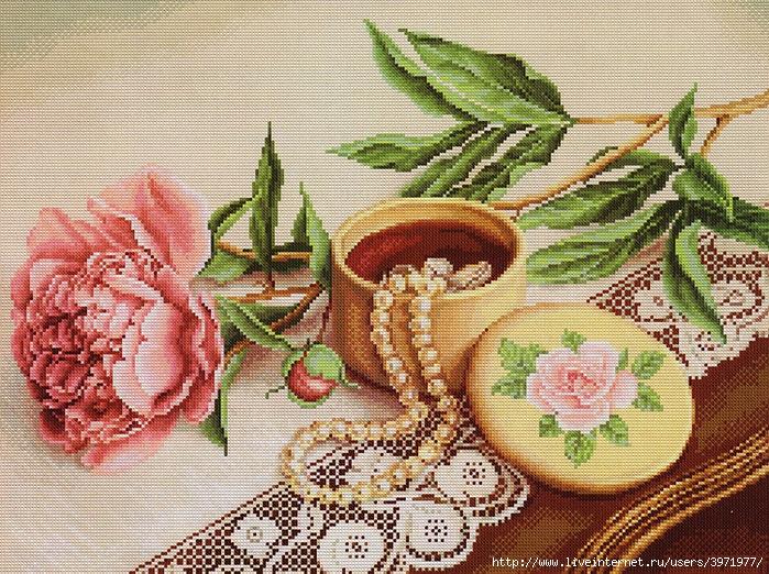 Девченки, может кто-то встречал красивую схему пионов.  Это моя бабушка любительница пионов и озадачила меня тем...