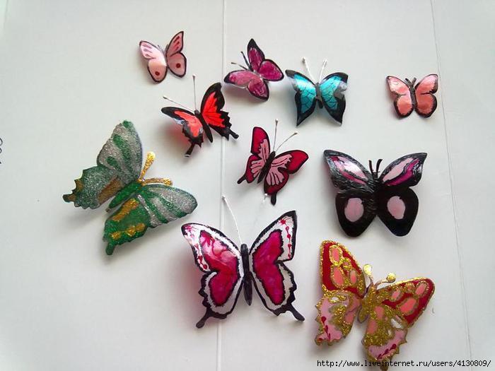Как сделать бабочка бабочку