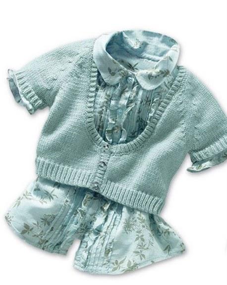 кофты вязаные детские спицами на девочку 1 год.