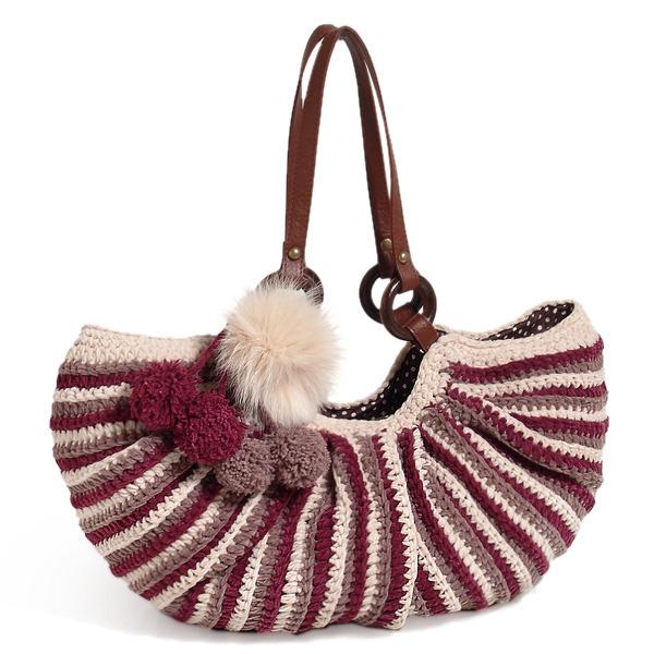 КАК СВЯЗАТЬ СУМКУ КРЮЧКОМ Связать крючком такую элегантную сумку...