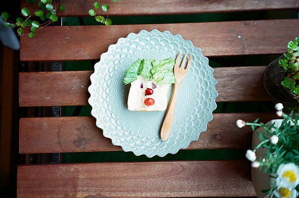 food gifts: cheerful breakfast for the kids! kids craft ideas