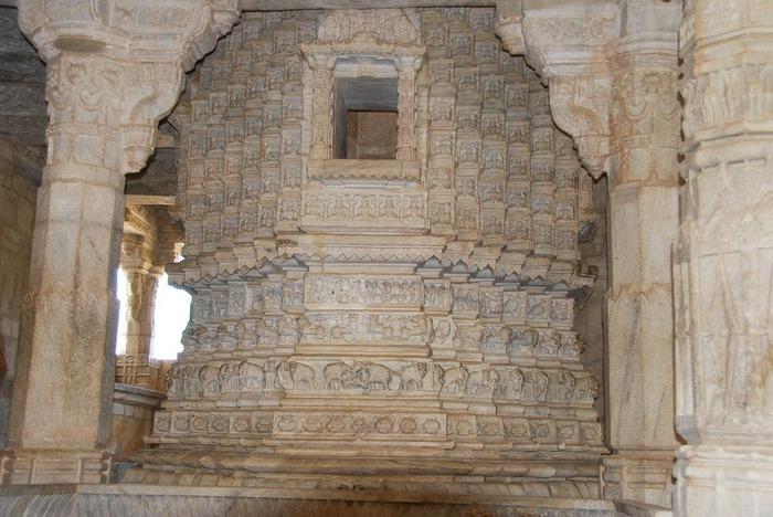 Храмовый комплекс Ранакпур - Jain Temples, Ranakpur 38009