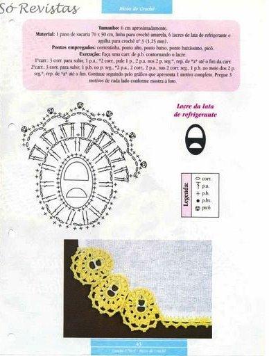 易拉罐拉环的利用3:蕾丝与拉环 - 荷塘秀色 - 茶之韵