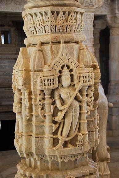 Храмовый комплекс Ранакпур - Jain Temples, Ranakpur 29876