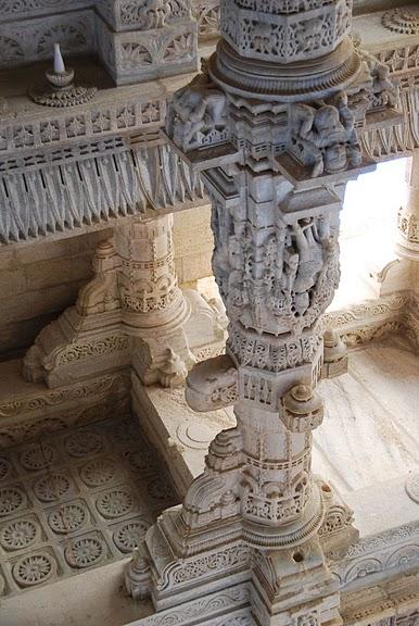 Храмовый комплекс Ранакпур - Jain Temples, Ranakpur 55584