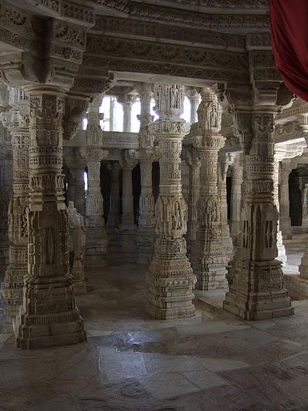 Храмовый комплекс Ранакпур - Jain Temples, Ranakpur 62290