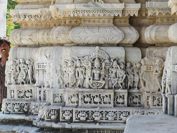 Храмовый комплекс Ранакпур - Jain Temples, Ranakpur 32647