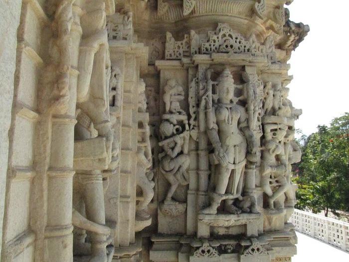 Храмовый комплекс Ранакпур - Jain Temples, Ranakpur 74038