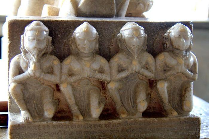 Храмовый комплекс Ранакпур - Jain Temples, Ranakpur 96613