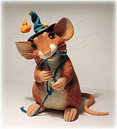 Мастер класс мышки из полимерной глины