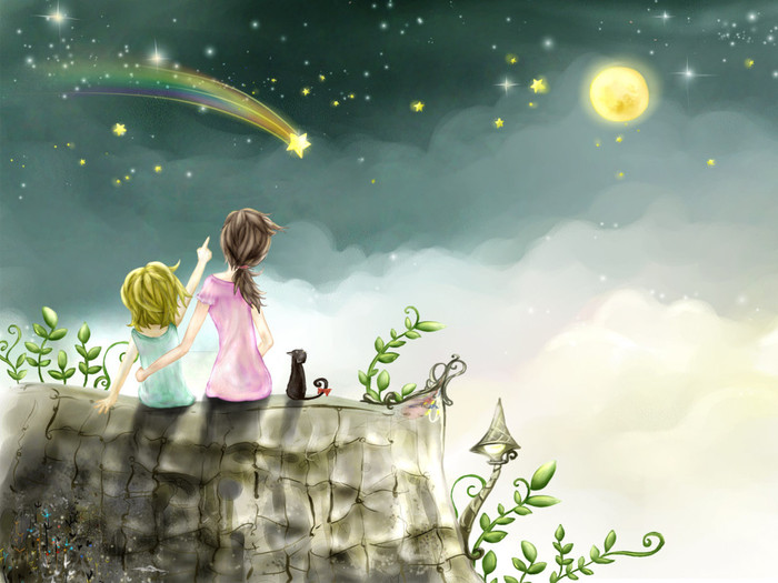 1269104099_Drawn_wallpapers_Falling_Star_016408_ (700x525, 93Kb)