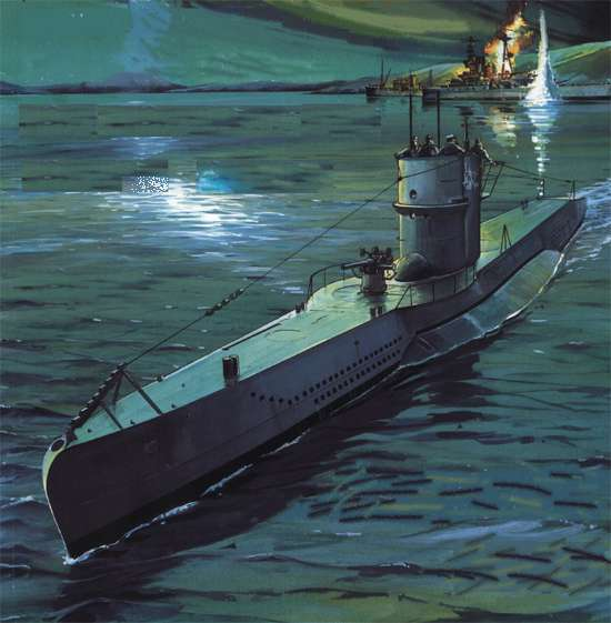 лучшие подводные лодки второй мировой