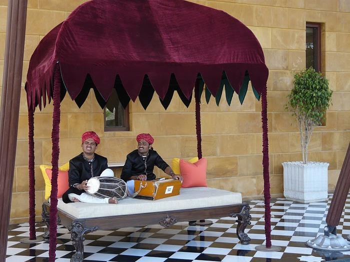 отели Индии и их интерьер 14857