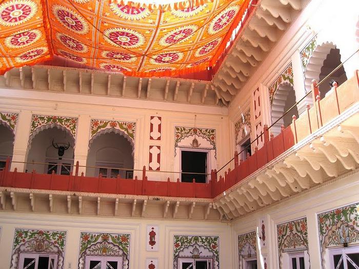 отели Индии и их интерьер 80306