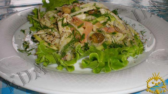 Рецепты с фенхелем и рыбой