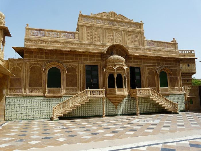 отели Индии и их интерьер 75267