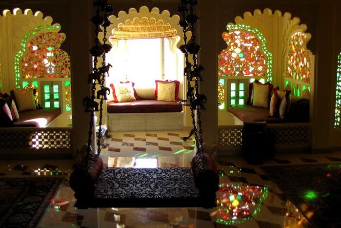 отели Индии и их интерьер 63614