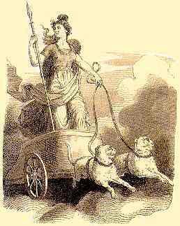Фрея на своей колеснице (258x323, 23Kb)