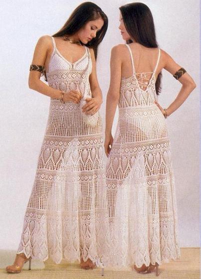 Re вязаные сарафаны туники платья