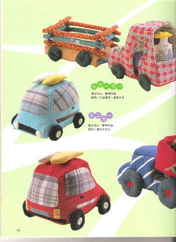 Как сшить игрушку для машины