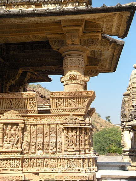 Храм Нагда - Nagda Sahasra Bahu temple 89917