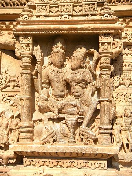 Храм Нагда - Nagda Sahasra Bahu temple 59641