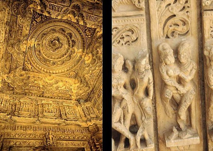 Храм Нагда - Nagda Sahasra Bahu temple 80034