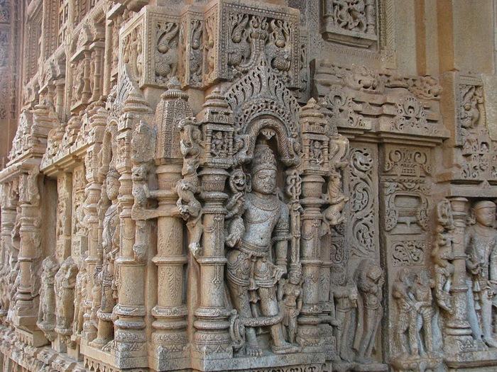 Храм Нагда - Nagda Sahasra Bahu temple 14125