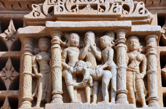 Храм Нагда - Nagda Sahasra Bahu temple 48867